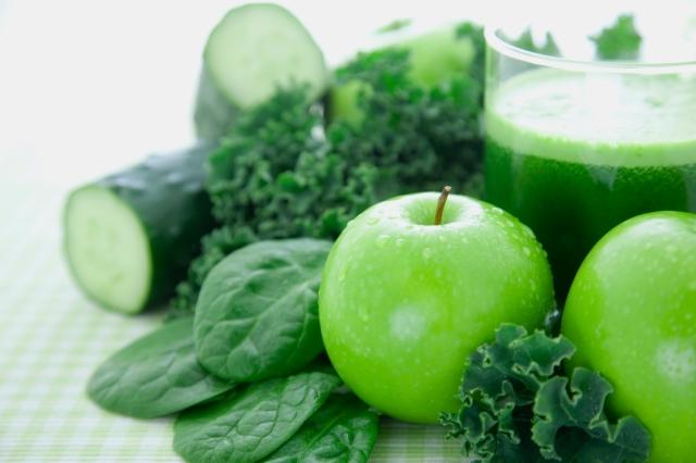 Green Fruit and Veg